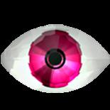 Pink F 18x10.5mm