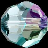Aquamarine Shimmer 4mm