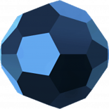 Crystal Metallic Blue FC 6mm