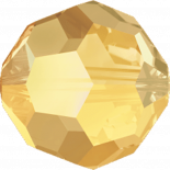 Crystal Metallic Sunshine 4mm