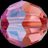 Rose Peach Shimmer 6mm