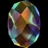 Crystal Rainbow Dark 2x 6mm