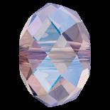 Light Amethyst Shimmer 2x 6mm