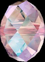 Light Rose Shimmer 2x 6mm