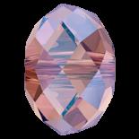 Rose Peach Shimmer 2x 6mm