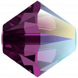 Amethyst Shimmer 4mm
