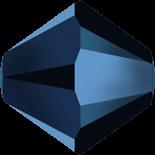 Crystal Metallic Blue 2X 4mm