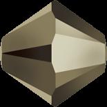 Crystal Metallic Light Gold 2X 5mm
