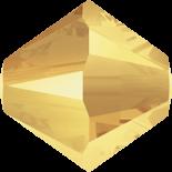 Crystal Metallic Sunshine 2X 4mm