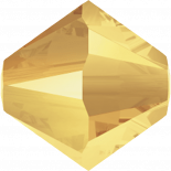 Crystal Metallic Sunshine 3mm