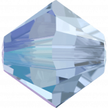 Light Sapphire Shimmer 6mm