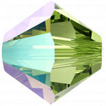 Peridot Shimmer 6mm