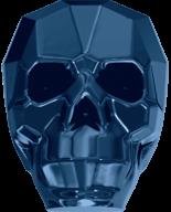 Crystal Metallic Blue 2X 13mm