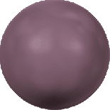 Crystal Burgundy Pearl 12mm
