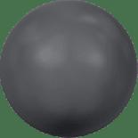 Crystal Dark Grey Pearl 6mm