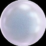 Crystal Irid Dreamy Blue Pearl 12mm