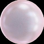 Crystal Irid Dreamy Rose Pearl 12mm