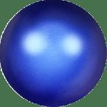 Crystal Iridescent Dark Blue Pearl 2mm