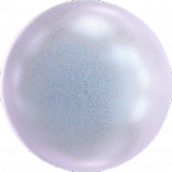 Crystal Iridescent Dreamy Blue Pearl 6mm
