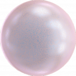 Crystal Iridescent Dreamy Rose Pearl 6mm