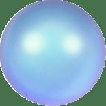 Crystal Iridescent Light Blue Pearl 2mm