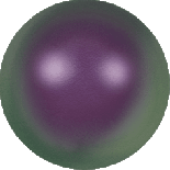 Crystal Iridescent Purple Pearl 5mm