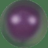 Crystal Iridescent Purple Pearl 8mm