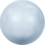 Crystal Light Blue Pearl 3mm