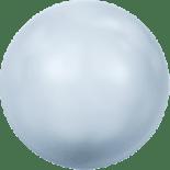 Crystal Light Blue Pearl 8mm