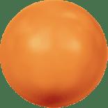 Crystal Neon Orange Pearl 6mm