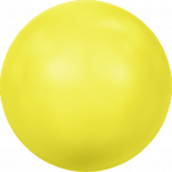 Crystal Neon Yellow Pearl 2mm