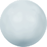 Crystal Pastel Blue Pearl 4mm