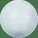Crystal Pastel Blue Pearl 6mm
