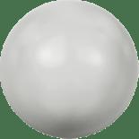 Crystal Pastel Grey Pearl 6mm