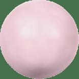 Crystal Pastel Rose Pearl 6mm