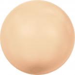 Crystal Peach Pearl 2mm