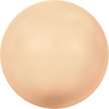 Crystal Peach Pearl 5mm