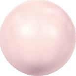 Crystal Rosaline Pearl 8mm