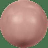 Crystal Rose Peach Pearl 5mm