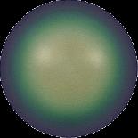 Crystal Scarabaeus Green Pearl 6mm