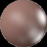 Crystal Velvet Brown Pearl 8mm