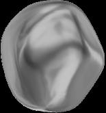 Crystal Dark Grey Pearl 12mm