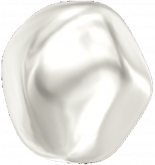 Crystal White Pearl 12mm