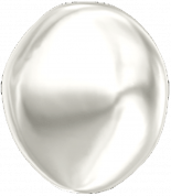 Crystal White Pearl 10mm