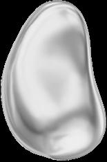 Crystal Light Grey Pearl 10mm
