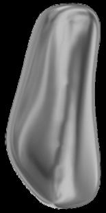 Crystal Dark Grey Pearl 14mm
