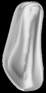 Crystal Light Grey Pearl 14mm