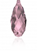 Crystal Antique Pink 13x6.5mm
