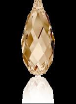 Crystal Golden Shadow 13x6.5mm
