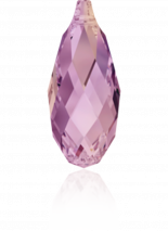 Crystal Lilac Shadow 13x6.5mm